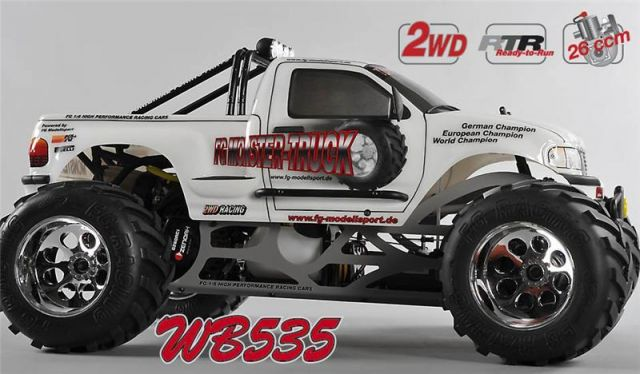 Photo MONSTER TRUCK 26cc RTR
