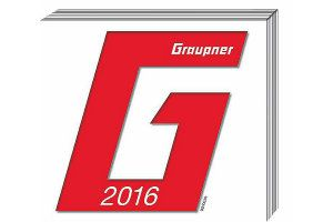 Photo CATALOGUE GRAUPNER  2016